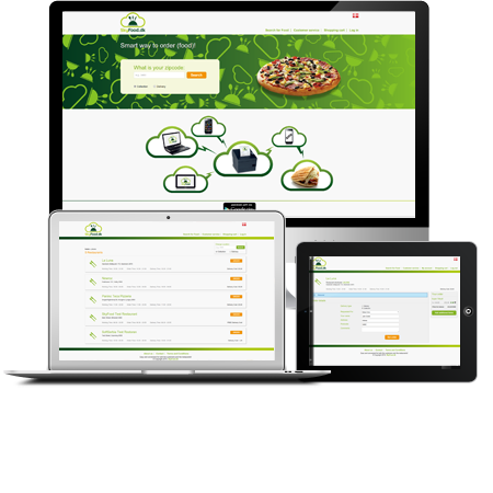 Food order website